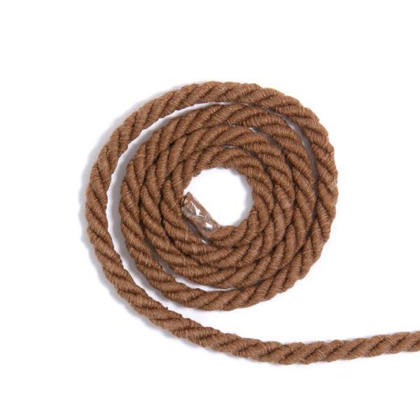 Baumwollkordel [Ø 5 mm] - hellbraun