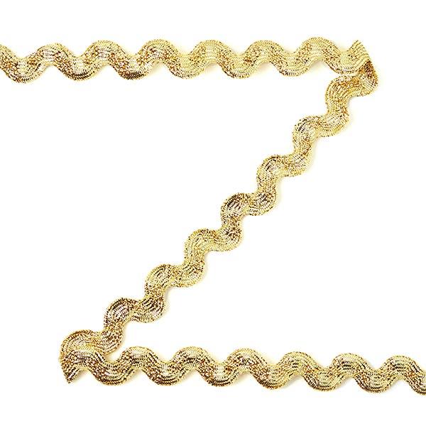 Galon dentelé Lurex [12 mm] - doré