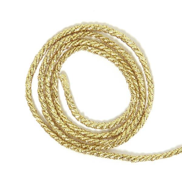 Lurexkordel [Ø 2 mm] - gold