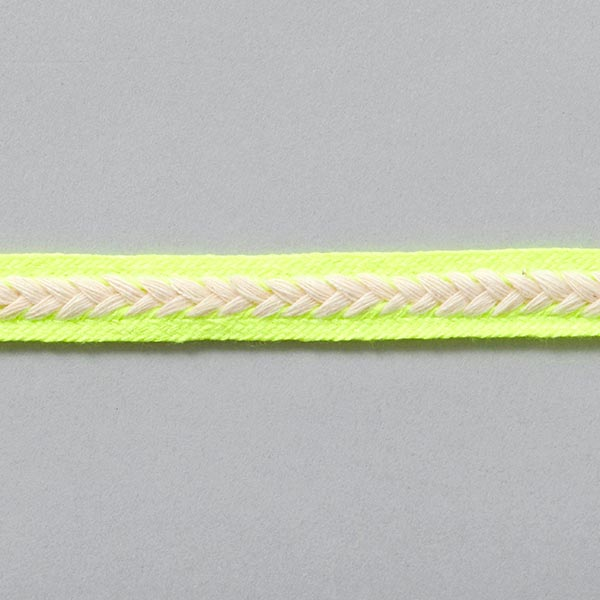Zierborte [14 mm] – neongelb