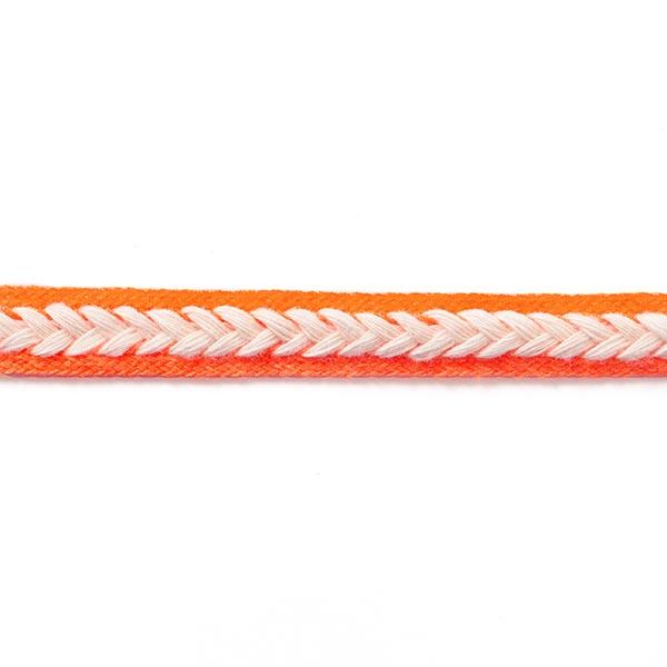 Galon décoratif [14 mm] – orange néon