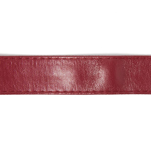 Sangle de sac Similicuir – rouge bordeaux