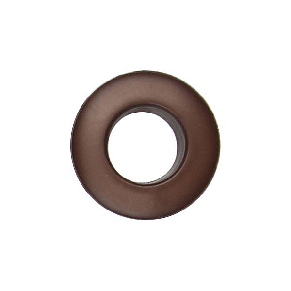 Œillets polyester – marron foncé