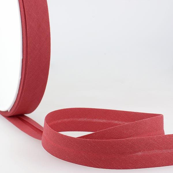 Biais  [Largeur : 50 mm ] – rouge bordeaux