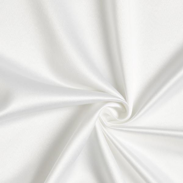 Satin mariée Stretch – blanc