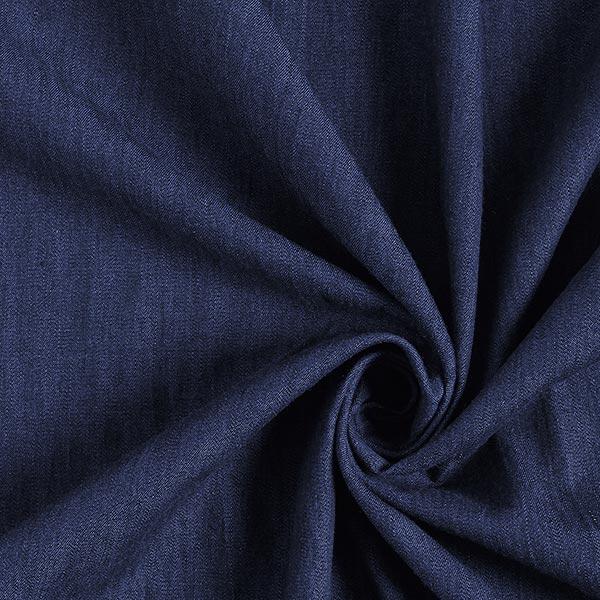 Blusenstoff Baumwolle Melange – jeansblau