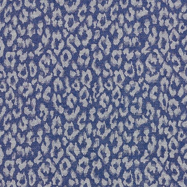 Chambrey Leoflecken – jeansblau