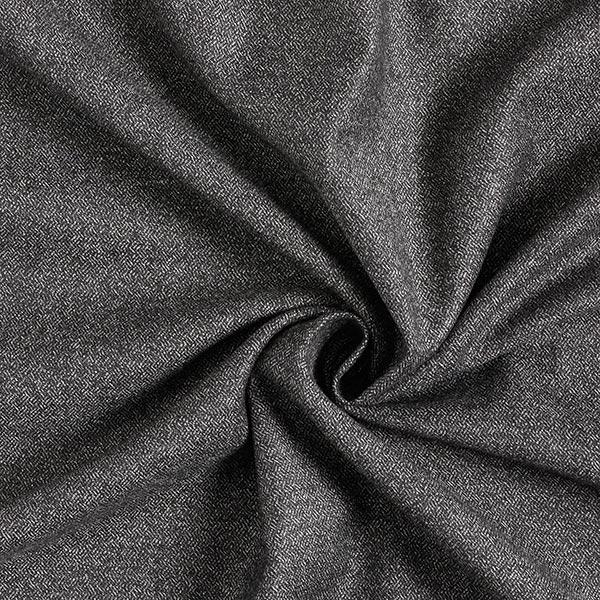 Tissu pour pantalon et costume Mélange de laine Poivre & sel – noir/blanc