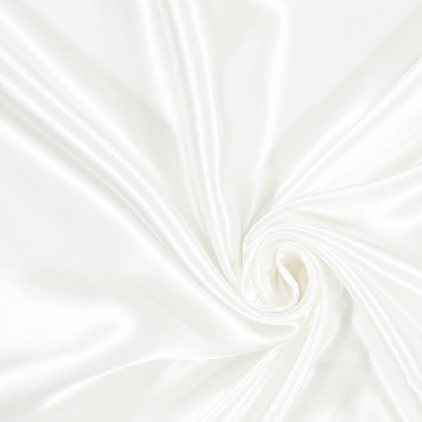 Doublure satin Duchesse Royal Neva'viscon – blanc