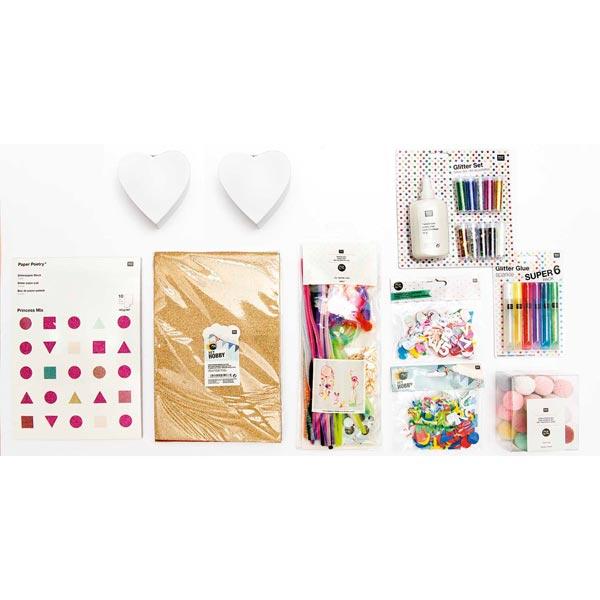 stayhome Set Bricolage enfant pour filles | Rico Design
