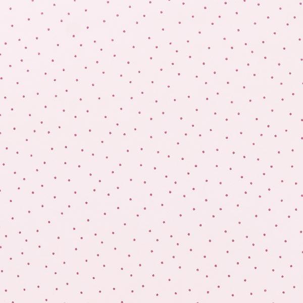 PVC- Baumwollstoff Hygge Punkte Metallic   Rico Design – rosé
