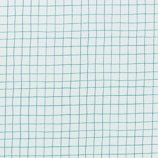 PVC- Baumwollstoff Hygge Kariert | Rico Design – mintgrün