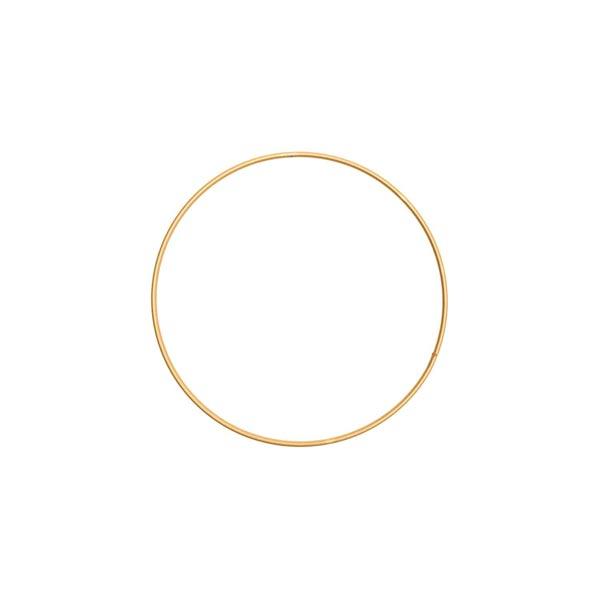 Anneau métallique [ Ø 15 cm ] | Rico Design – or