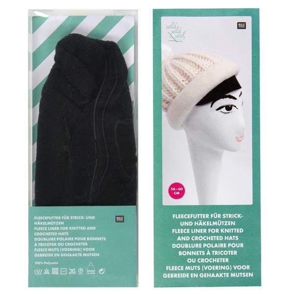 Bonnet polaire, grand – noir | Rico Design