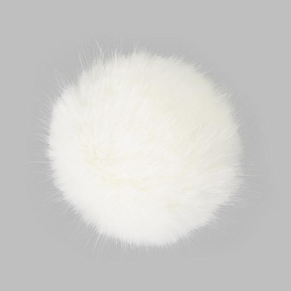 Kunstfellbommel, 10 cm | 1