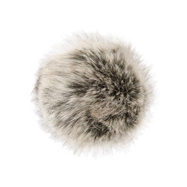 Pompon fausse fourrure, 10 cm | 9