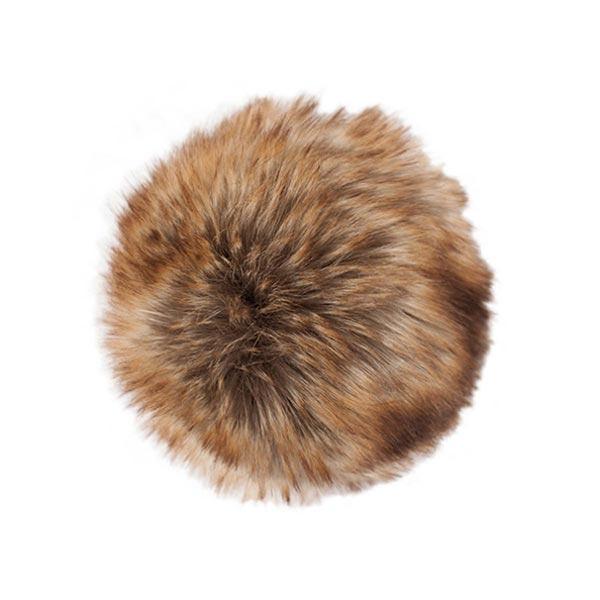 Pompon fausse fourrure, 10 cm | 10