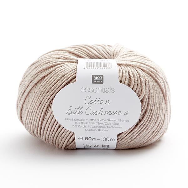 Essentials Cotton Silk Cashmere | Rico Design, 50 g (005)