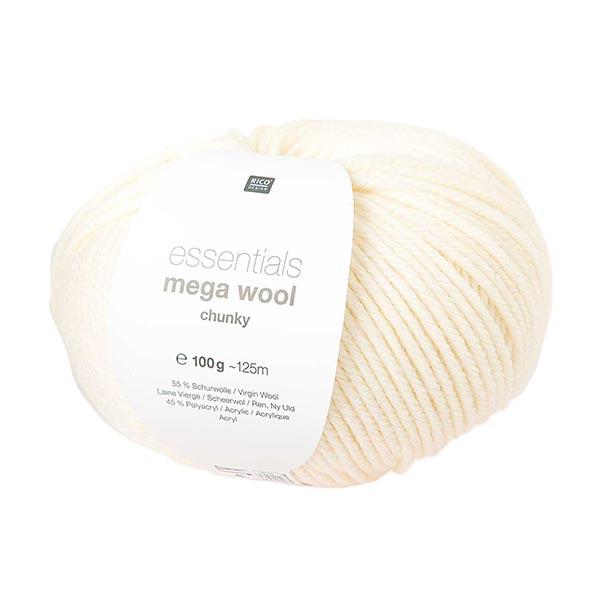 Essentials Mega Wool chunky   Rico Design – crème