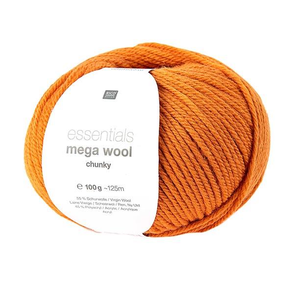 Essentials Mega Wool chunky | Rico Design – orange