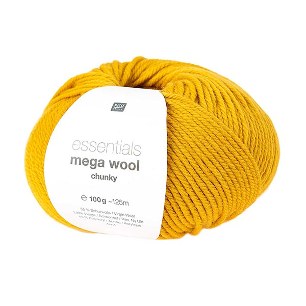 Essentials Mega Wool chunky | Rico Design – moutarde