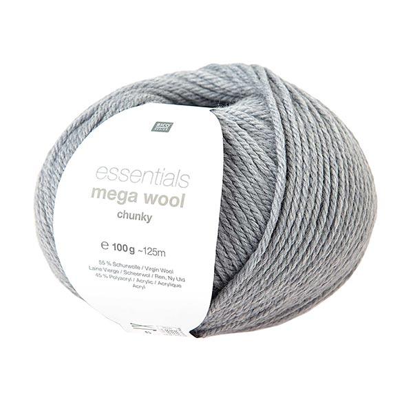 Essentials Mega Wool chunky | Rico Design – hellgrau