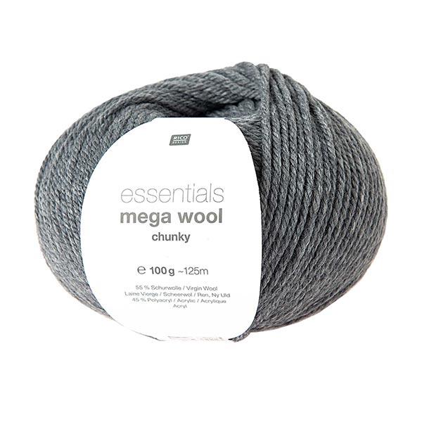 Essentials Mega Wool chunky | Rico Design – gris
