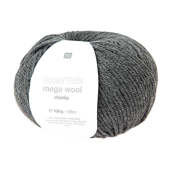 Essentials Mega Wool chunky | Rico Design – anthracite