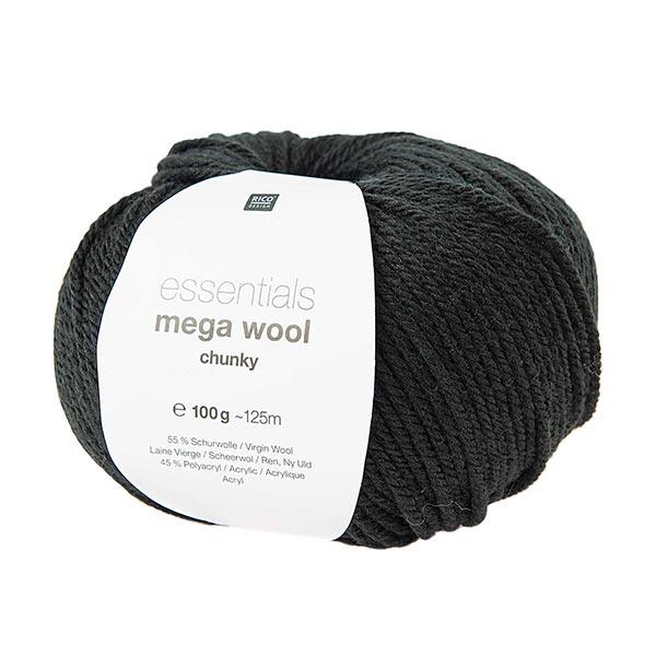 Essentials Mega Wool chunky | Rico Design – schwarz
