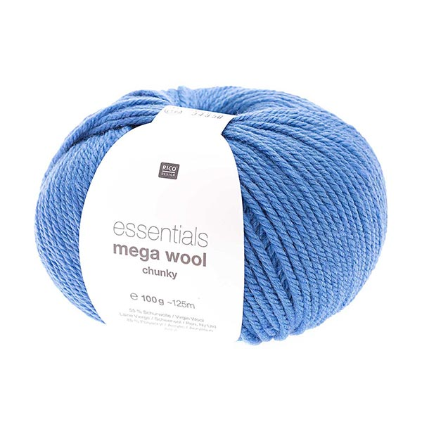 Essentials Mega Wool chunky | Rico Design – bleu roi