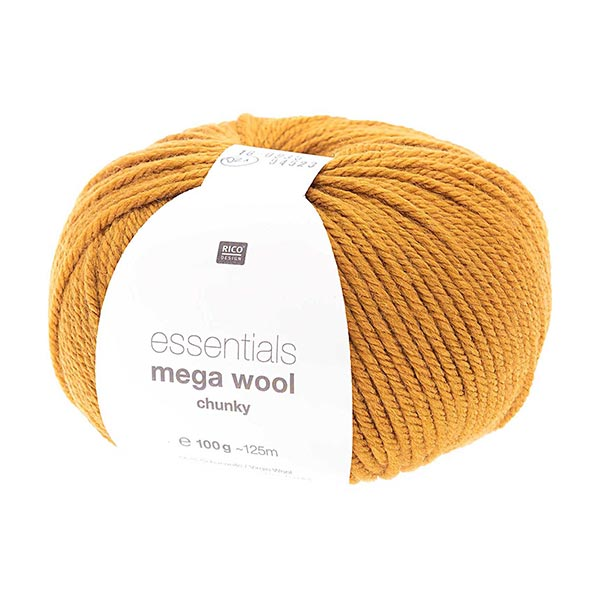 Essentials Mega Wool chunky | Rico Design – curry