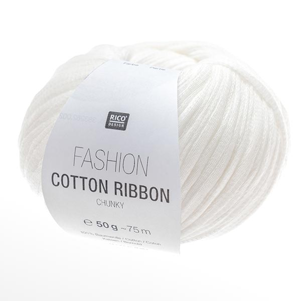 Fashion COTTON RIBBON | Rico Design, 50 g (001)
