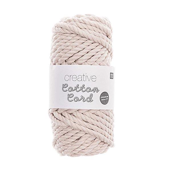 Creative Cotton Cord [5mm] | Rico Design – natur