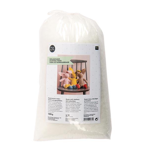 Fibre de perle 100 g | RICO DESIGN - blanc
