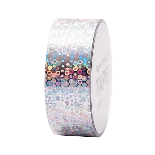 Bande holographique Cercles 2 | RICO DESIGN - argenté
