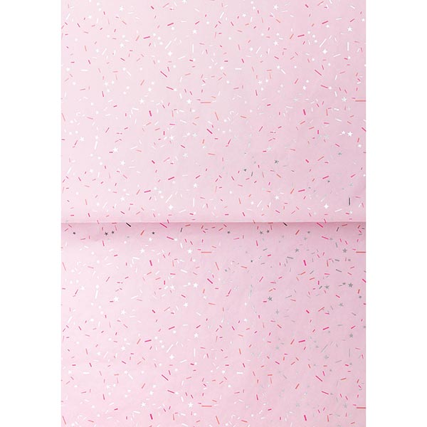 Paper Patch Confetti fluo | Rico Design – rose vif