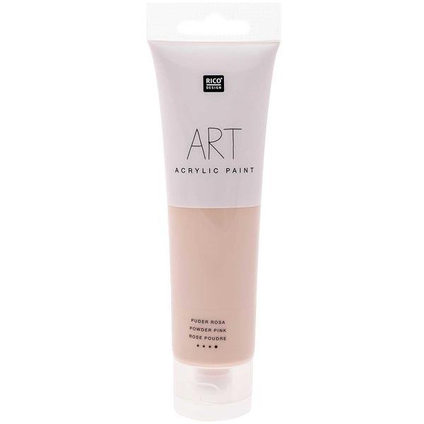 Art Acrylic Malfarbe  [ 100 ml ] | Rico Design  – puder rosa