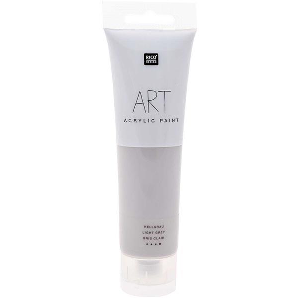 Peinture Art Acrylic [ 100 ml ]   Rico Design – gris clair