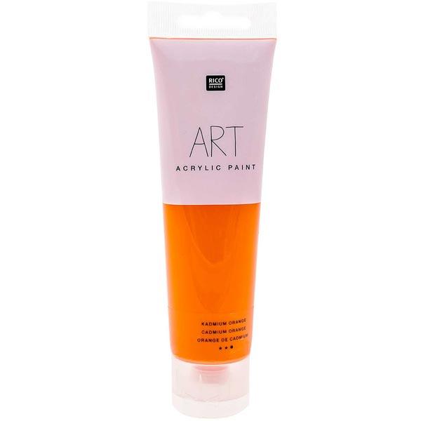 Peinture Art Acrylic [ 100 ml ]   Rico Design – orange