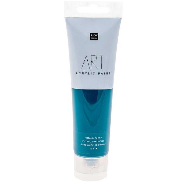 Peinture Art Acrylic [ 100 ml ] | Rico Design – turquoise