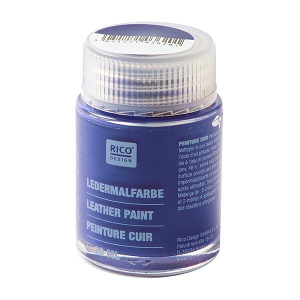 Ledermalfarbe [20 ml] | RICO DESIGN - blau