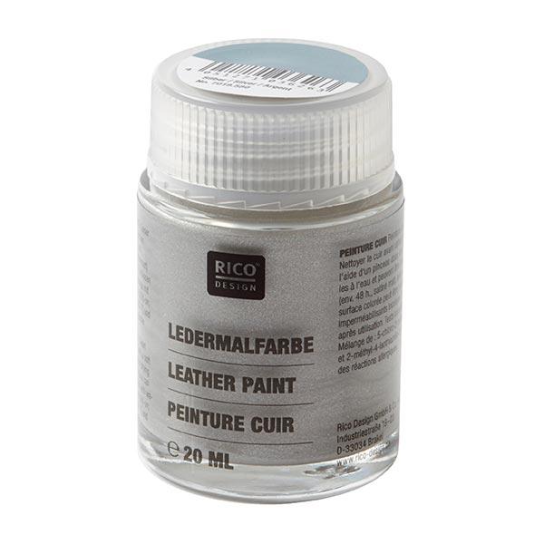 Peinture cuir [20 ml] | RICO DESIGN - argent
