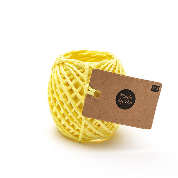Ficelle de papier | Rico Design – jaune