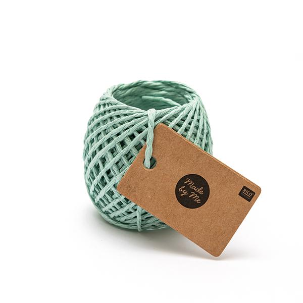 Ficelle de papier   Rico Design – vert menthe