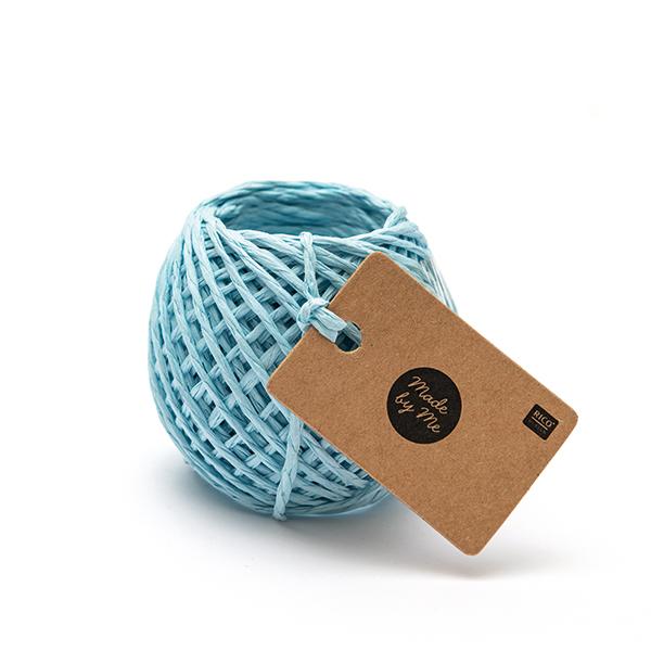 Ficelle de papier | Rico Design – bleu clair