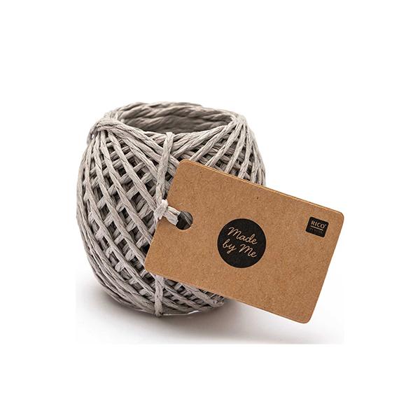 Ficelle de papier | Rico Design – gris