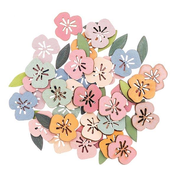 Bois Petits sujets Fleur | Rico Design