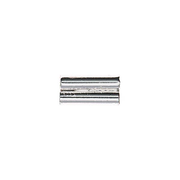 Röhrenverbindungsstück [2x2,3mm], Jewellery Made by Me   Rico Design - silber
