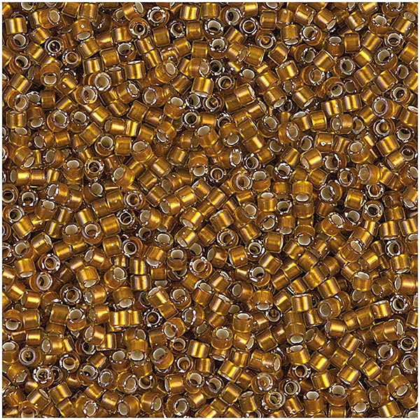 Itoshii Tube Perlen Metallic | RICO DESIGN - altgold