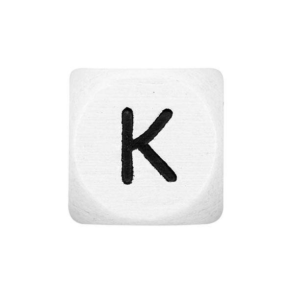 Holzbuchstaben K – weiß | Rico Design